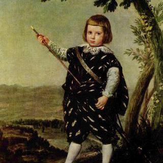 돈 발타사르 카를로스 왕자의 초상