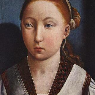 소녀의 초상 (11살 무렵의 아라곤의 캐서린으로 추정됨. 또는 그 언니 후아나 라 로카)
