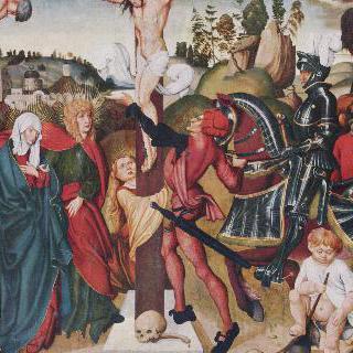 아크스바흐 제단화 : 십자가에 못 박힌 그리스도