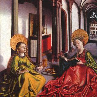 마리아 제단화 : 성 카타리나와 마리아 막달레나
