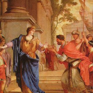 프톨레마이오스의 왕관을 거부하는 코르넬리아