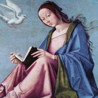 수태고지 (성경을 읽고 있는 마리아)