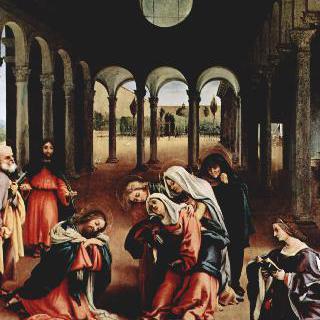 마리아와 작별하는 그리스도 이미지