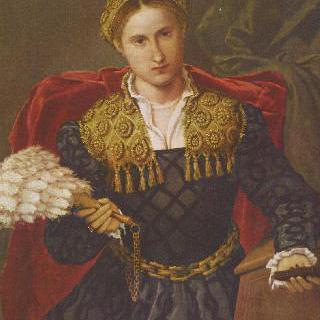 라우라 다 폴라의 초상, 페보 다 브레시아의 부인