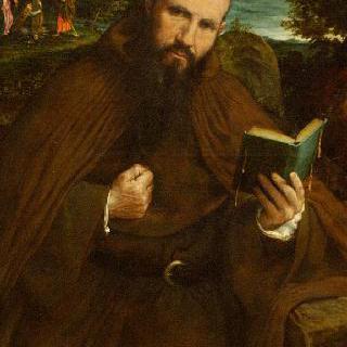 수도사 그레고리우스 벨로 디 비첸차의 초상