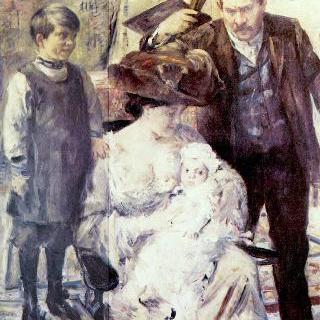 화가와 그의 가족 (가족 초상)