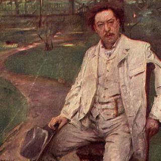 피아니스트 콘라트 안조르게의 초상