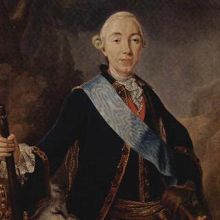 러시아 황제 표트르 3세의 초상