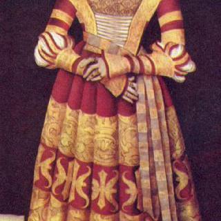 공작부인 카타리나 폰 메클렌부르크의 초상