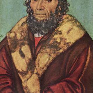 마그데부르크의 신학자 요하네스 쇠너 박사의 초상