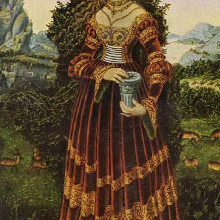 마리아 막달레나의 모습을 한 작센 귀부인의 초상