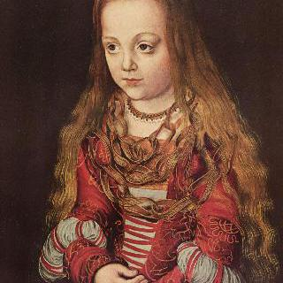 작센 제후의 딸의 초상