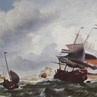폭풍 속의 배들