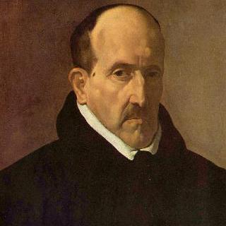 작가 루이스 데 공고라 이 아르고테의 초상