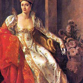 토스카나 대공비, 엘리자 보나파르트의 초상