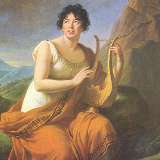 코린나의 모습을 한 스탈 부인의 초상