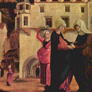 마리아 제단화 : 마리아의 방문