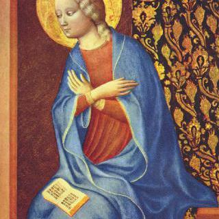 수태고지를 받는 성모 마리아