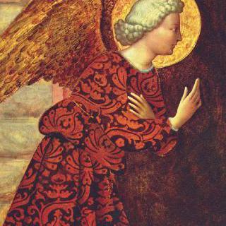 수태고지를 하는 천사