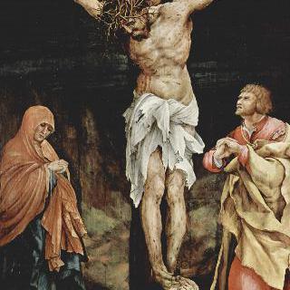 타우버비쇼프스하임 제단화: 그리스도의 십자가형