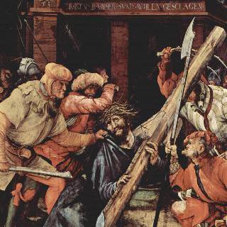 타우버비쇼프스하임 제단화: 십자가를 지고 넘어지는 그리스도