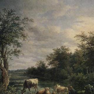 소들이 있는 풍경