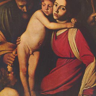성 가족과 세례 요한