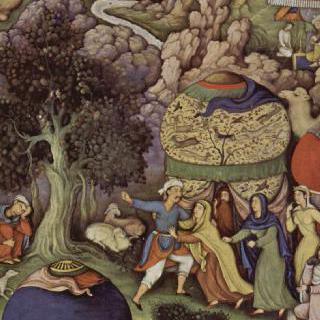 자미의 바하리스탄 : 부정한 아내 이야기