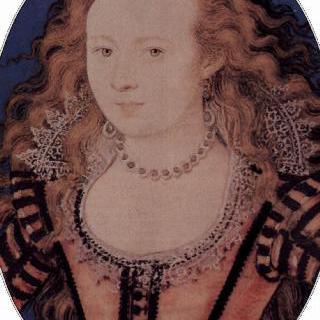 보헤미아 왕비 엘리자베스의 초상