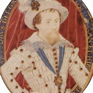 잉글랜드 왕 제임스 1세의 초상