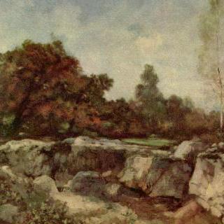 퐁텐블로의 바위