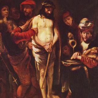 빌라도 앞의 그리스도