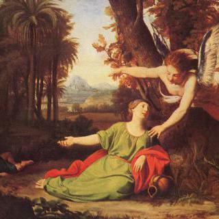 황야의 하갈과 이스마엘