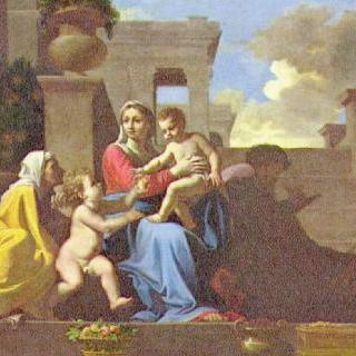 계단 위의 성 가족