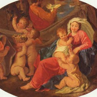 성 가족과 천사들