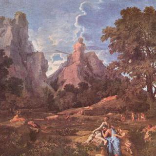 폴리페모스가 있는 풍경