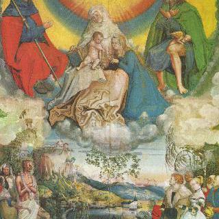 성 안나와 성 모자 및 페스트에 신음하는 인류를 위해 기도하는 성 야고보와 로코
