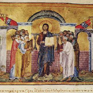 바실리우스 2세의 메놀로기움에 그려진 장식화