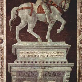 조반니 아쿠토 (존 호크우드)의 기마상 그림