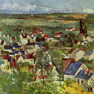오베르 풍경