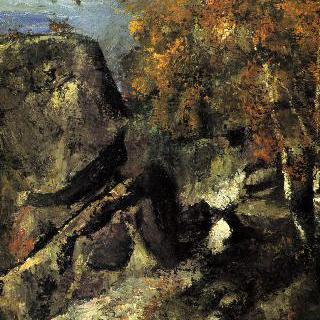 퐁텐블로 숲의 바위