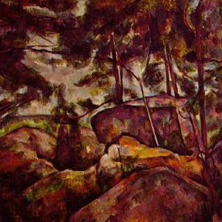 퐁텐블로의 바위 숲