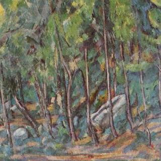 퐁텐블로 숲 속에서