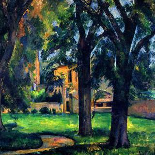 자 드 부팡의 밤나무와 농장건물