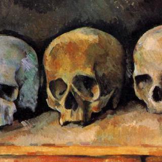 정물, 세 개의 해골