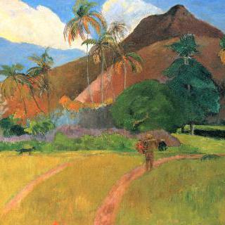 타히티의 산들