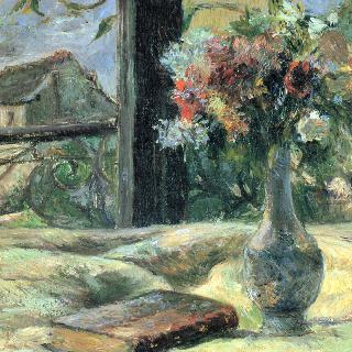 창가의 꽃병