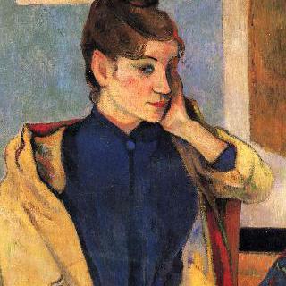 화가 에밀 베르나르의 누이 마들렌 베르나르의 초상