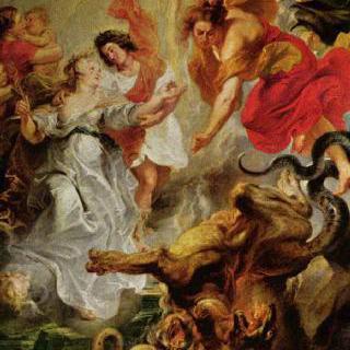 프랑스 왕비 마리 드 메디시스를 위한 연작그림 : 루이와 마리의 속죄