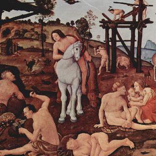 인류의 상고사를 그린 연작그림 : 불카누스 (헤파이스토스)와 아이올로스